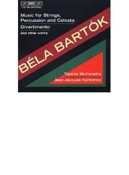 Music For String Percussion & Celesta, Divertimento, Etc: Kantorow / Tapiola Sinfonietta