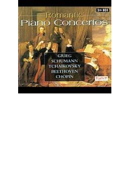 Romantic Piano Concertos: Berlin.so, 杉谷(P) Grieg, Schumann, Tchaikovsk