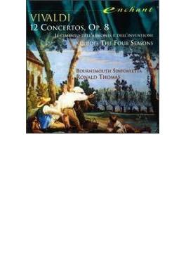 Violin Concertos Op.8: R.thomas / Bournemouth Sinfonietta