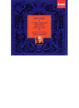 室内協奏曲集、水上の音楽、王宮の花火の音楽、オルガン協奏曲集、他 メニューイン&バース祝祭管、メニューイン祝祭管、他(8CD)