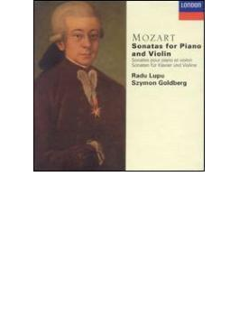 ヴァイオリン・ソナタ集 ゴールドベルク、ルプー(4CD)