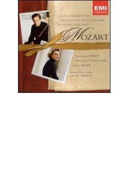 Flute Concerto, Clarinet Concerto: Pahud(Fl)s.meyer(Cl)abbado / Bpo