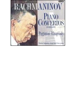 ピアノ協奏曲全集(No.1:リル、No.2:プラッツ、No.3,No.4:ルガンスキー、パガ狂:プラッツ)