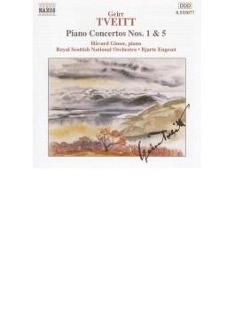 ピアノ協奏曲第1・5番 ギムセ/エンゲセット/ロイヤル・スコティッシュ管