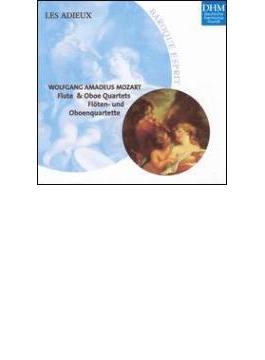Flute Quartets.1-4, Oboe Quartet: Les Adieux, Hazelzet(Fl), Westermann(Ob)
