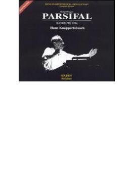 『パルジファル』全曲 クナッパーツブッシュ&バイロイト、ヴィントガッセン、メードル、ホッター、他(1954 モノラル)(4CD)