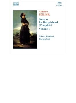 ハープシコード・ソナタ全集Vol.1 ローランド