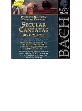 Cantatas.210, 211: Rilling / Stuttgart Bach Collegium Ensemble