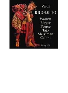 Rigoletto: Cellini / Rca Victor.o, Warren(Br)