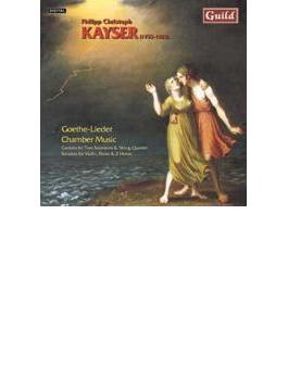 Goethe-lieder, Chamber Music