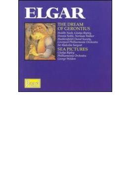 Dream Of Gerontius, Sea Picture: Sargent / Liverpool.po, V / A