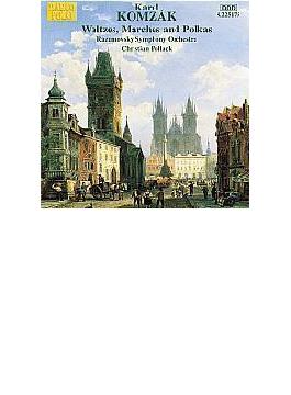 <ワルツ・マーチ・ポルカ集>序曲「エーデルワイス」/他 ポラック/ラズモフスキー交響楽団/他