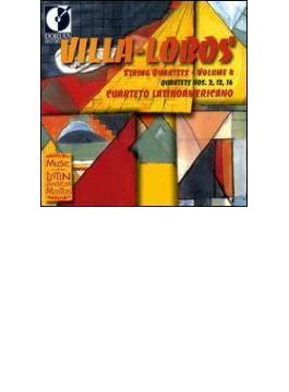 String Quartets.2, 12, 16: Cuartet Latinomericano