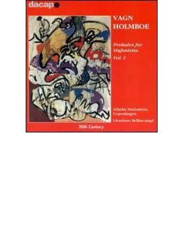 <シンフォニエッタのための前奏曲集1>不安定な天気に/他 ベリンカンピ/コペンハーゲン・アテラス・シンフォニエッタ