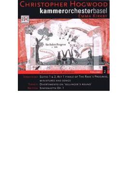 Suites.1, 2 / Sinfonietta / Sellinger's Round: Kirkby, Hogwood / Basel.co