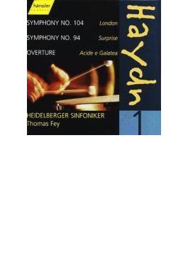 交響曲第104番『ロンドン』、交響曲第94番『驚愕』 ファイ&ハイデルベルク交響楽団