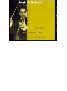 Celibidache / Bpo Beethoven, Brahms, R.strauss, Dvorak, Prokofiev, Berlioz, Et