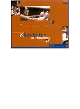 ブルックナー:交響曲第7番、ベートーヴェン同7番、モーツァルト同40番、29番、ほか クレンペラー&北ドイツ放送交響楽団(3CD)