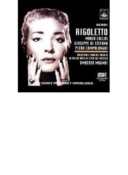 Rigoletto: Callas, Di Stefano, Mugnai / Bellas Artes Theater.o