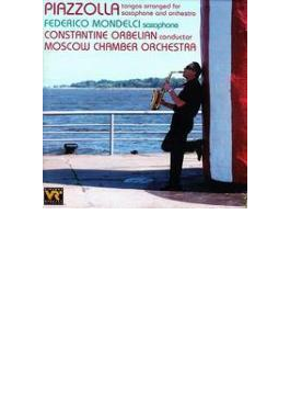 Arrenged Works For Saxophone & Orchestra Mondelci