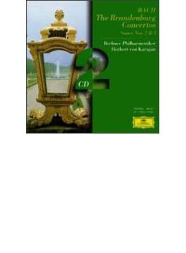 ブランデンブルク協奏曲全曲、管弦楽組曲第2、3番 カラヤン&ベルリン・フィル