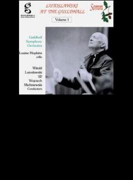 Cello Concerto, Sym.2, Etc: Lutoslawski / Guildhall.so