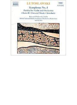 管弦楽曲集Vol.1[交響曲No.4/チェーン2/パルティータ] バコフスキー/ヴィト/ポーランド国立SO
