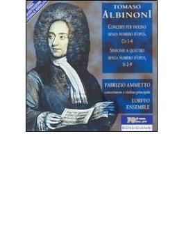 Violin Concertos Ammetto(Vn)