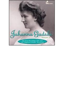 The Comp.johanna Gadski Vol.2 Victor Recordings 1910-17