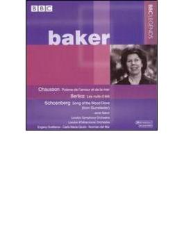 Poeme De L'amour Et De La Mer / Les Nuits D'ete: Baker(Ms) +gurrelieder