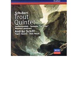Piano Quintet, Moments Musicaux: A.schiff, Hagen.q, Posch(Cb)