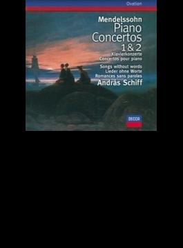 ピアノ協奏曲第1、2番、無言歌集(11曲)  シフ(p)、デュトワ&バイエルン放送響