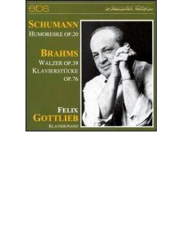 Piano Works: Gottlieb