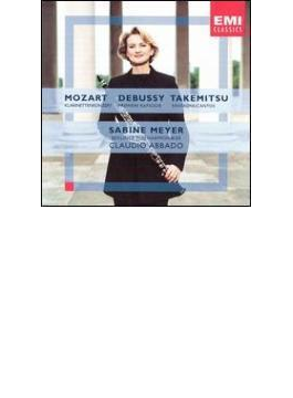 Clarinet Concerto: S.meyer(Cl) Abbado / Bpo +debussy, 武満徹
