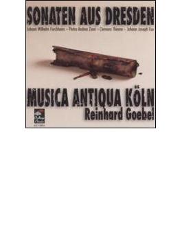 Sonaten Aus Dresden: Goebel / Makworks Of Fux, Furchheim, Thieme, Ziani