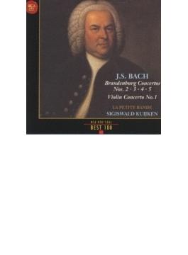 Brandenburg Concerto.2-5: S.kuijken / La Petite Bande