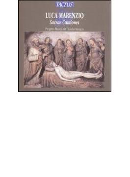 マレンツィオ:5、6、7声のためのサクレ・カンツィオネス他 プロジェット・ムジカ