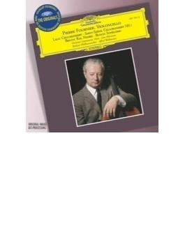 ラロ:チェロ協奏曲、サン=サーンス:チェロ協奏曲第1番、ブルッフ:シェロモ、ブロッホ:コル・ニドライ フルニエ(vc)