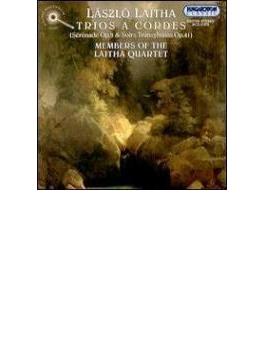 String Trio.1, 3: Members Of Lajtha Sq