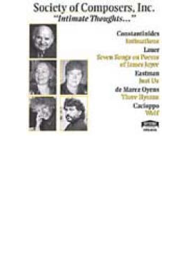 Intimations / Songs On Poems Of / Coxistantinides, Laver, Oyens