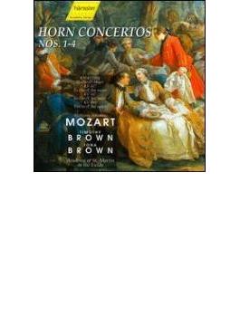Horn Concerto, 1-4, : T.brown(Hr) I.brown / Asmf