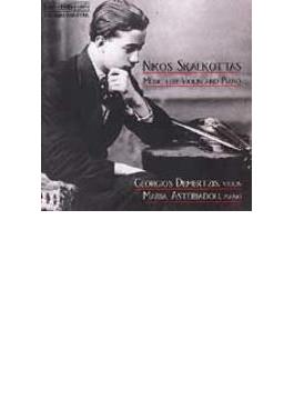 Works For Violin & Pino: Demertzis(Vn)