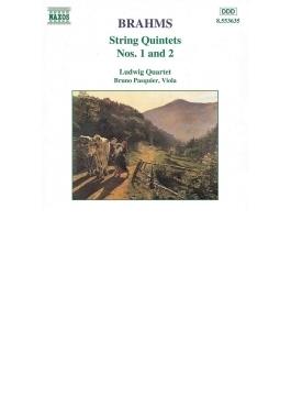 弦楽五重奏曲第1番、第2番 ルートヴィヒ四重奏団、B.パスキエ