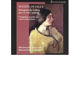 Vocal Works: Torruella(Ms) Morante(P)