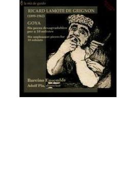 Goya: Pla / Balcino Ensemble