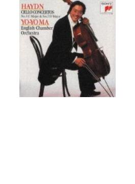Cello Concerto.1, 2 / : Yo-yo Ma(Vc), Garcia / Eco, Zukerman / St.paul.co