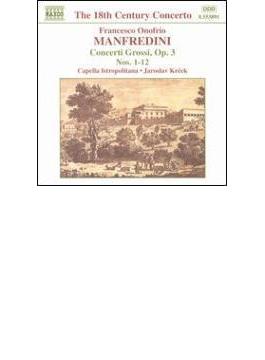 合奏協奏曲集Op.3No.1-12(全曲) クレチェク/カペラ・イストロポリターナ