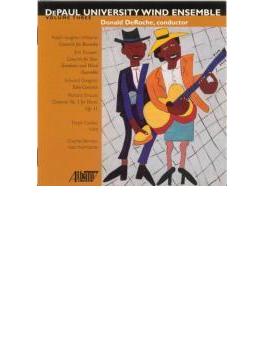 Tuba Concerto: Cooley(Tu) Deroche / Depaul U Wind Ensemble +r.strauss
