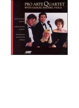String Quintet: Pro Arte Q S.rhodes(Va) +s.rhodes: Quintet, Mays: Quartet