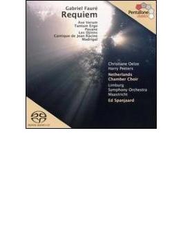 Requiem, Etc: Spanjaard / Limburgso Netherlands Chamber Cho Oelze (Hyb)